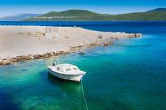 Adriatiska havet ferier Arkivbild