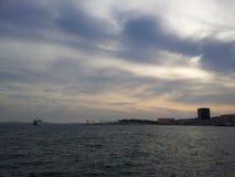 Adriatiska havet sikt Royaltyfria Bilder