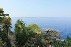 Adriatiskt havet är turkos arkivbild