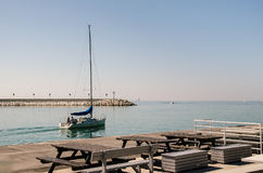 Adriatiskt havlandskap Royaltyfri Bild