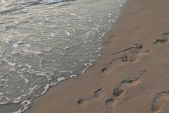 Adriatycka plaża Obraz Royalty Free