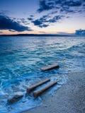 Adriatycki morze zdjęcie royalty free