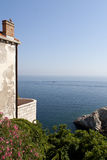 Adriatycki Seascape fotografia stock