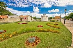 Adriatycki turystyczny miejsce przeznaczenia Nin Zdjęcia Royalty Free