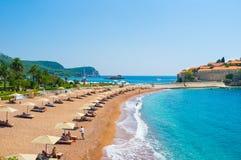 Adriatycki wybrzeże Zdjęcie Royalty Free