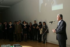 Adriean Videanu Foto de archivo libre de regalías