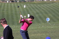 Adrien Bernadet Andalucia Golf Open, Marbella Royalty Free Stock Images