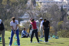 Adrien Bernadet at Andalucia Golf Open, Marbella Stock Photos