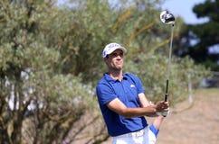Adrien Bernadet au défi 2013 de golf de Pleneuf Val Andre Photographie stock libre de droits