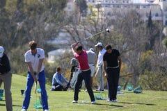 Adrien Bernadet en el golf abierto, Marbella de Andalucía Fotos de archivo