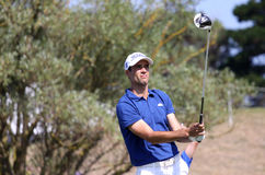 Adrien Bernadet at the Pleneuf Val Andre golf Challenge 2013 Royalty Free Stock Photography