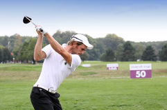 Adrien Bernadet, Vivendi golf cup, sept 2010 Royalty Free Stock Images