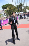 Adrien Brody attends the 70th Anniversary photocall. During the 70th annual Cannes Film Festival at Palais des Festivals on May 23, 2017 in Cannes, France Stock Photography