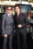 Adrien Brody, jr. Robert-Downey Lizenzfreies Stockfoto