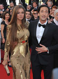 Adrien Brody & Lara Lieto Stock Photo
