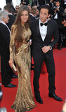 Adrien Brody & Lara Lieto Royalty Free Stock Images