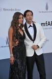 Adrien Brody & Lara Nieto Stock Photos