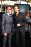 Adrien Brody,Robert Downey Jr Royalty Free Stock Photo