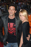 Adrien Brody,The Specials. Actor ADRIEN BRODY & girlfriend at the special fan screening of War of the Worlds at the Grauman's Chinese Theatre, Hollywood. June 27 Stock Photography