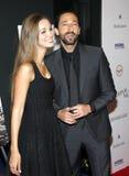 Adrien Brody und Lara Lieto Stockbild