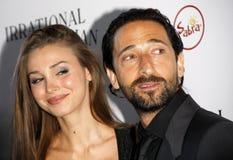 Adrien Brody und Lara Lieto Stockfotos