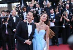 Adrien Brody und Lara Lieto Lizenzfreie Stockfotos