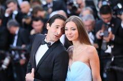 Adrien Brody und Lara Lieto Stockfotografie