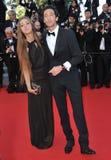 Adrien Brody y Lara Lieto Fotos de archivo
