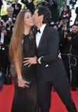 Adrien Brody y Lara Lieto Fotografía de archivo libre de regalías