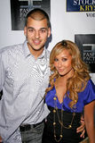 Adrienne Bailon,Robert Kardashian Royalty Free Stock Photo