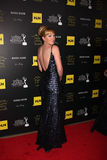 Adrienne Frantz kommt zu den 2012 TagesEmmy Awards Lizenzfreies Stockfoto