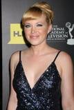 Adrienne Frantz kommt zu den 2012 TagesEmmy Awards Stockbilder