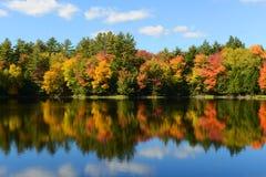 Adrondack Mountains in Fall, New York, USA Royalty Free Stock Photos