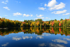 Adrondack Mountains in Fall, New York, USA Stock Image