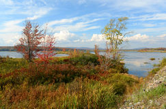 Adrondack Mountains in Fall, New York, USA Royalty Free Stock Image