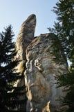 adrspach трясет teplice взгляд городка республики cesky чехословакского krumlov средневековый старый Стоковая Фотография