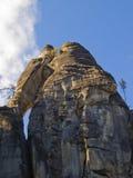 Adrspach - ciudad de la roca Fotografía de archivo libre de regalías