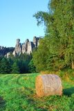 Adrspach sandstone towers Stock Image