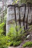 Adrspach-teplice Felsen Stockbilder