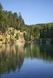 Adrspach-Teplice Felsen Tschechische Republik Stockbild