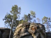 Adrspach-Teplice Felsen Tschechische Republik Stockbilder