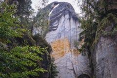 Adrspach teplice skały Zdjęcia Stock