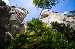 Adrspach Teplice skały miasteczko Fotografia Stock