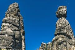 Adrspach-Teplicefelsen, Tschechische Republik Lizenzfreie Stockbilder