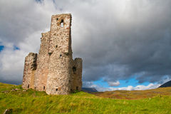 Adrvreck Castle ruin Stock Photo