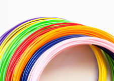 ADS-Plastik für Drucker 3D, lizenzfreie stockbilder