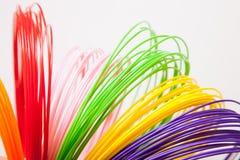 ADS-Plastik für Drucker 3D, lizenzfreies stockbild