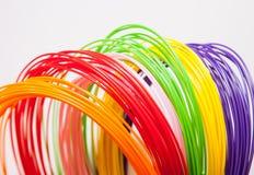 ADS-Plastik für Drucker 3D, lizenzfreie stockfotografie