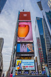 Ads at Times Square in New York City Stock Photography
