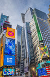 Ads at Times Square in New York City, USA Stock Photo